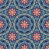 Seamless pattern. Decorative pattern in beautiful colors. Vector illustration Stock Image