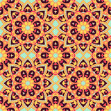 Seamless pattern. Decorative pattern in bright colors. Vector background Stock Photos