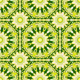 Seamless pattern. Decorative pattern in bright fresh colors. Vector background Royalty Free Stock Images