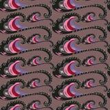 Seamless pattern. decorative wave. Varicoloured Stock Photos