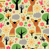 Seamless pattern design Stock Photography