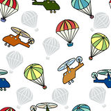Seamless pattern with design for boys. Stock Photography