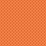 Seamless pattern. Design element for wallpaper, wrapping paper, textile prints and etc. Easter rabbit cover design. Orange color Stock Image