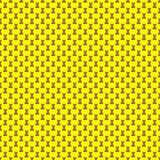 Seamless pattern. Design element for wallpaper, wrapping paper, textile prints and etc. Easter rabbit cover design. Yellow color Royalty Free Stock Images