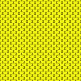 Seamless pattern. Design element for wallpaper, wrapping paper, textile prints and etc. Easter rabbit cover design. Yellow color Royalty Free Stock Image