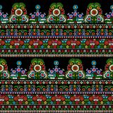 Hungarian embroidery pattern Royalty Free Stock Photography