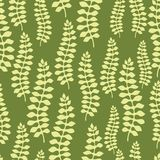 Seamless pattern design with stylized abstract Royalty Free Stock Images
