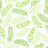 Seamless pattern design with stylized abstract Stock Image