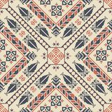 Palestinian embroidery pattern stock images