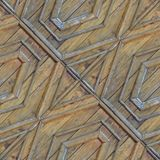 Seamless pattern of wooden texture from lumber planks. Seamless pattern for designers of artists with old wooden texture from lumber planks with nails stock photo