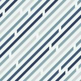 Seamless pattern. Diagonal lines with spaces. Cold colors. Gray, blue vector illustration