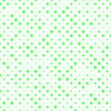 Seamless pattern of diagonal rows, blurred green balls different sizes. Seamless pattern of diagonal rows, of blurred balls of different sizes. Simple endless Stock Photography