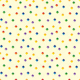 Seamless pattern - diamond Royalty Free Stock Photo