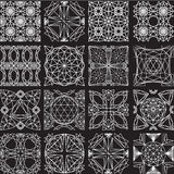 Seamless pattern from diamond cutting Royalty Free Stock Image