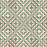 Seamless pattern with diamond design Royalty Free Stock Photo
