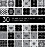 Seamless pattern from diamond Royalty Free Stock Image