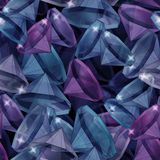 Seamless pattern with diamonds Royalty Free Stock Image