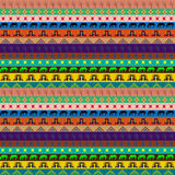 Seamless pattern with different  colorful frieze Royalty Free Stock Photos