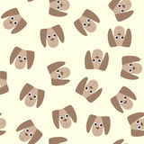 Seamless pattern with dog toys Royalty Free Stock Photos