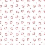 Seamless pattern with dog tracks Animal background. Seamless pattern with dog tracks. Animal background. Design for card, announcement, advertisement, banner or vector illustration