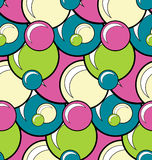 Seamless pattern doodle bubbles for your creativity Stock Photos