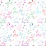 Seamless pattern. Stock Image