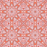 Seamless pattern doodle ornament. Colorful background. Ethnic motives Stock Photo