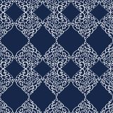 Seamless pattern with doodle ornament Royalty Free Stock Images