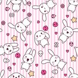 Seamless pattern with doodle. Vector kawaii