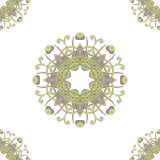 Seamless pattern Doodles abstract decorative sketch  background Royalty Free Stock Photo