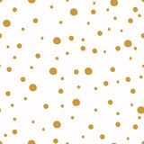Seamless pattern with dot. Christmas backgrounds. Royalty Free Stock Photography