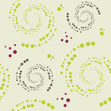 Seamless pattern with dots Royalty Free Stock Photos