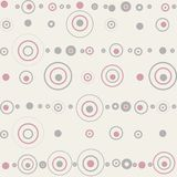 Seamless pattern -dots Stock Images