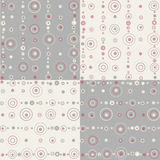 Seamless pattern -dots Stock Photo