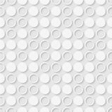 Seamless pattern of dots and rings. Geometric dotted wallpaper. Royalty Free Stock Images