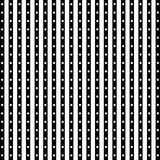 Seamless pattern of dots and stripes Stock Photos