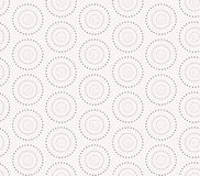 Seamless pattern with dotted circles. Vector Stock Photos