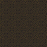 Seamless pattern with dotted circles. Wallpaper design. Print texture. Fabric design. Royalty Free Stock Image