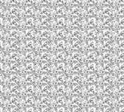Seamless pattern with drawing butterfly Royalty Free Stock Photo