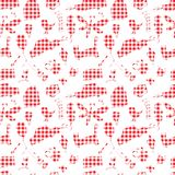 Seamless pattern, drawn in a childlike style. Vector illustration Stock Photography