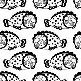 Seamless pattern with dream fish. vector. marinelife. Seamless pattern with dream fish. vector vector illustration