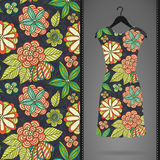 Seamless pattern with dress Royalty Free Stock Images
