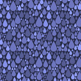 Seamless pattern with drops Royalty Free Stock Images
