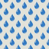 Seamless Pattern with drops Stock Images