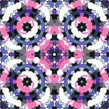 Seamless pattern. East ornament with colorful details background Stock Photography