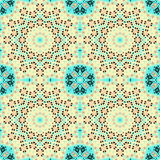 Seamless pattern. East ornament with colorful details. Template, Stock Images