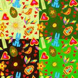 Seamless_pattern_Easter Lizenzfreie Stockfotos