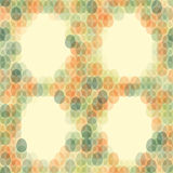 Seamless pattern Easter card on light background. Vector illustration Royalty Free Stock Images