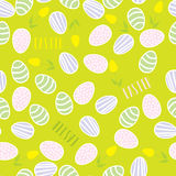 Seamless pattern of Easter eggs Royalty Free Stock Photography