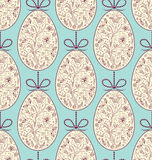Seamless pattern with easter eggs. Vector illustration of seamless pattern with easter eggs vector illustration